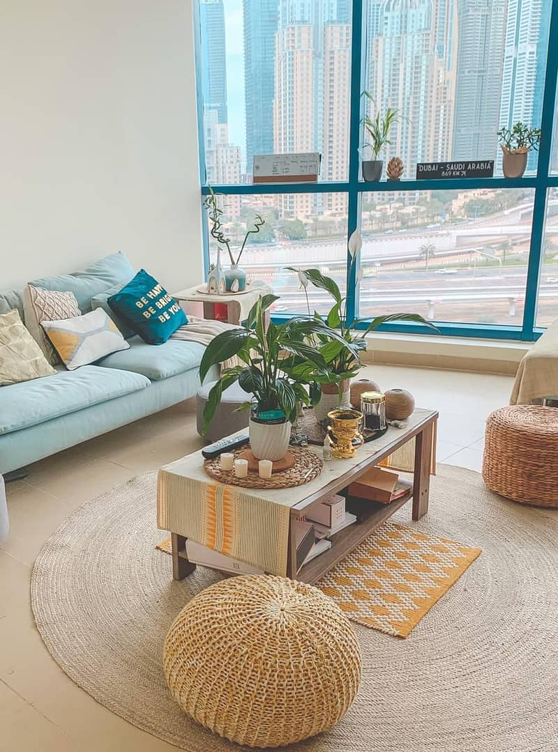Furnished Small 1 Bedroom in Jumeirah X1 Tower JLT. .