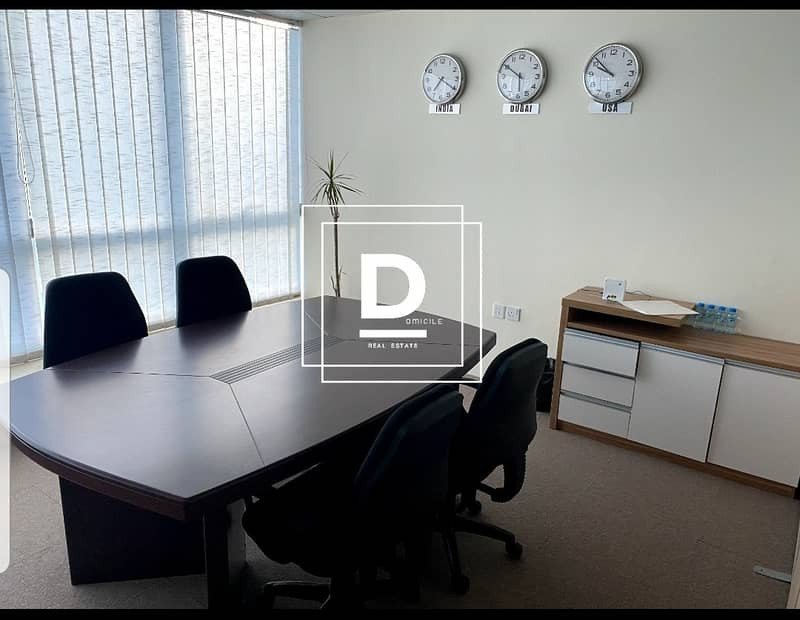 1 | Fully Fitted Office | in Fortune Tower | JLT  |