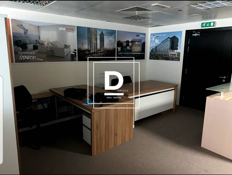 2 | Fully Fitted Office | in Fortune Tower | JLT  |