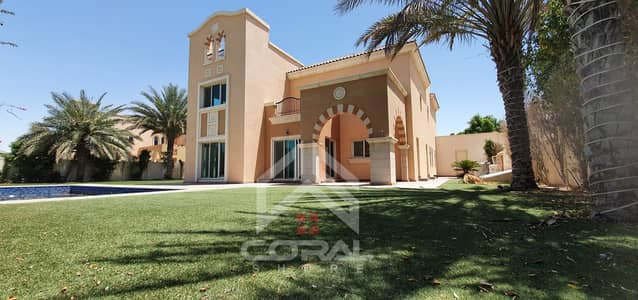 6 Bedroom Villa for Rent in Dubai Sports City, Dubai - 6 Bed | Golf Course View | Type A1 | Vacant Now