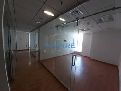 Office for Rent in Jumeirah Lake Towers (JLT), Dubai - Affordable | Fitted Partitions | Wooden Flooring
