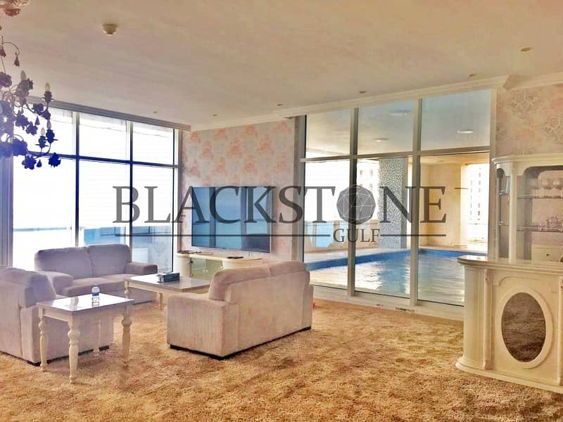 Fully Furnished 3BR+Maid For Sale  High Floor   Marina View
