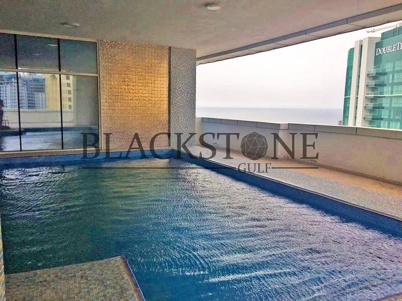 2 Fully Furnished 3BR+Maid For Sale  High Floor   Marina View