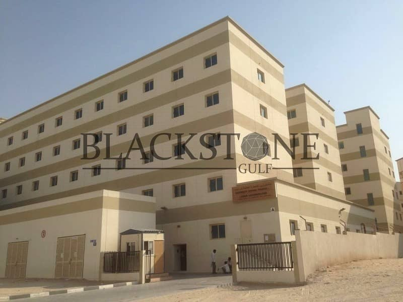 G+4 Labour Camp for Sale | 557 Rooms