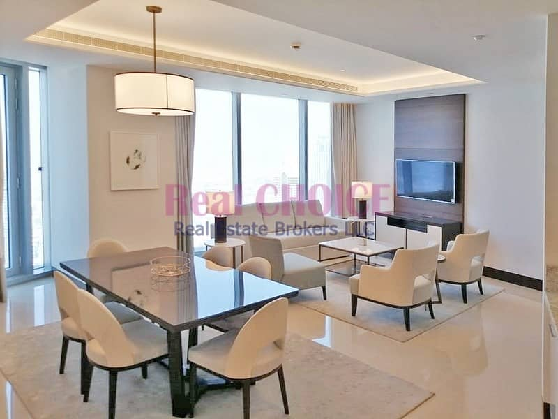 2 Fully Furnished 2BR Serviced Apartment|Great Views