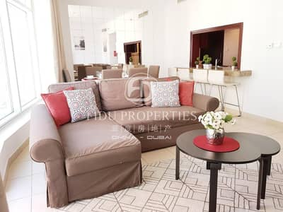 فلیٹ 2 غرفة نوم للايجار في وسط مدينة دبي، دبي - Fully furnished | Mid floor| Multiple chqs