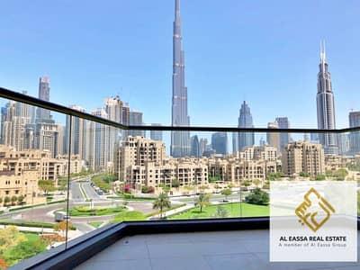 فلیٹ 2 غرفة نوم للايجار في وسط مدينة دبي، دبي - South RidgeFull Burj and Parc View