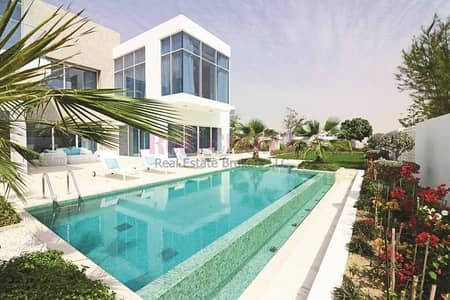4 Bedroom Villa for Sale in Al Barari, Dubai - Huge Plot Size|Contemporary 4BR Villa