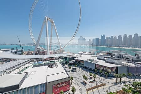 3 Bedroom Apartment for Rent in Bluewaters Island, Dubai - Elegantly Furnished   Full Sea and Dubai Eye Views