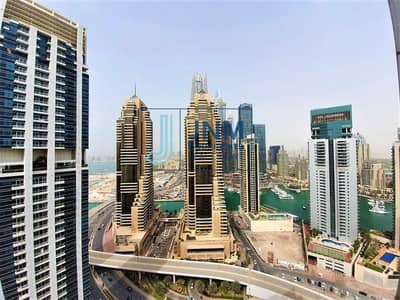 2 Bedroom Flat for Rent in Dubai Marina, Dubai - Exclusive 2BR in Marina Chiller Free | Furnished @ 100k