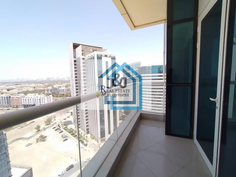 Spacious 2 Bedroom Apartment with Maids room and Balcony at very prime location of Danet Abu Dhabi