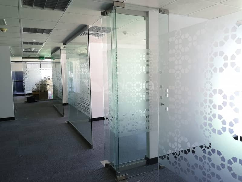 2 Fitted Office w/ Glass Partition & Big Terrace | JBC 1 | JLT