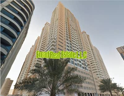 1 Bedroom Apartment for Rent in Al Sawan, Ajman - Ajman ONE: Big size, 1 Bed Hall (Close Kitchen) and Parking near Beach