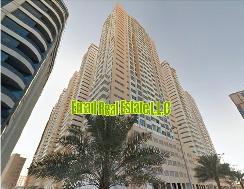 Ajman ONE: Big size, 1 Bed Hall (Close Kitchen) and Parking near Beach