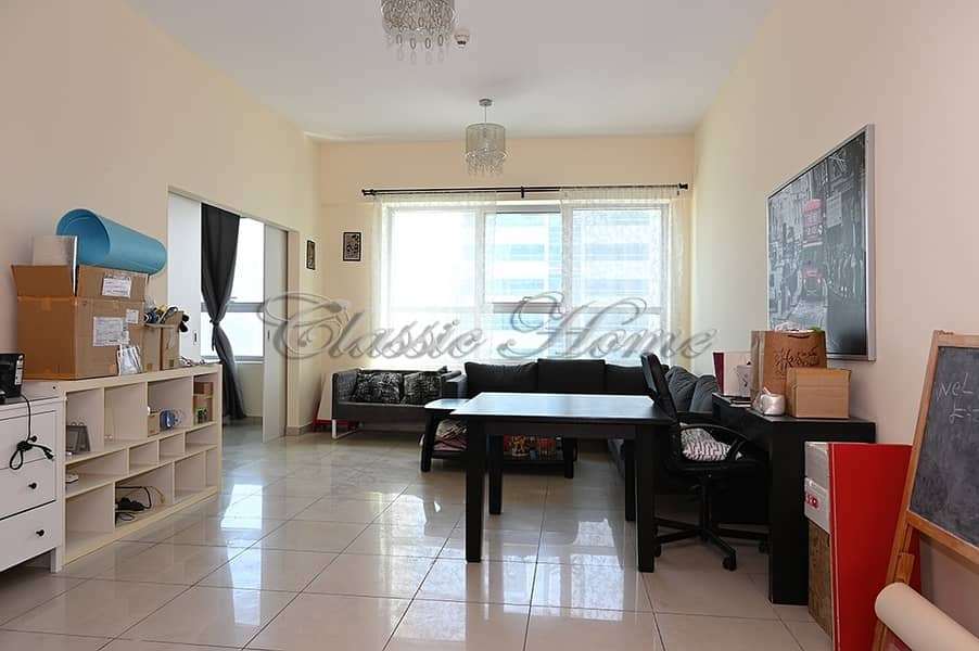 Corner 3 Bedroom Fully Furnished with Upgraded Kitchen with Partial Sea View/Dubai Eye