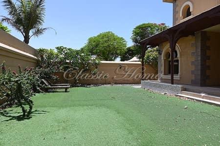 3 Bedroom Villa for Rent in Dubailand, Dubai - Corner Plot 3 BR + Maids Room Semi-Detached Andalusian Style