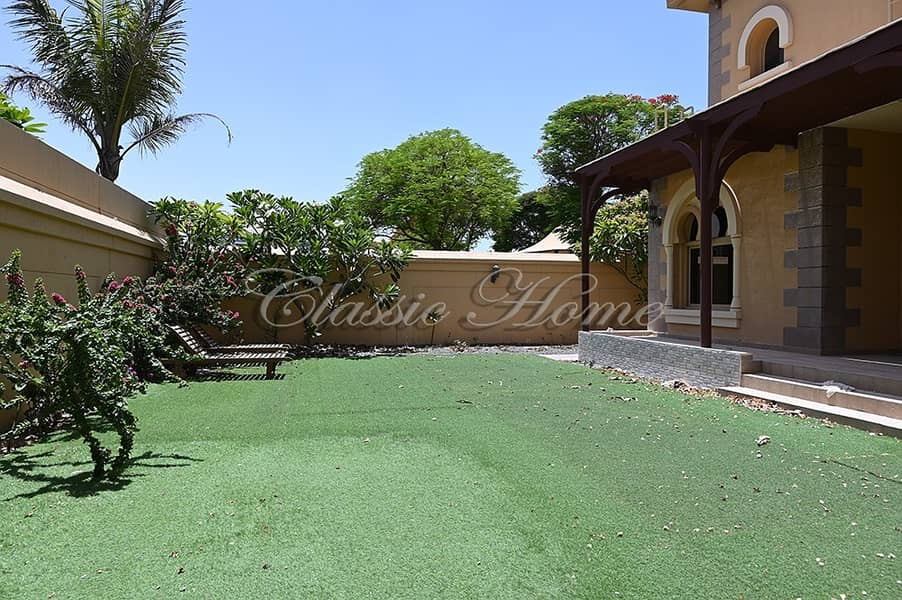 Corner Plot 3 BR + Maids Room Semi-Detached Andalusian Style