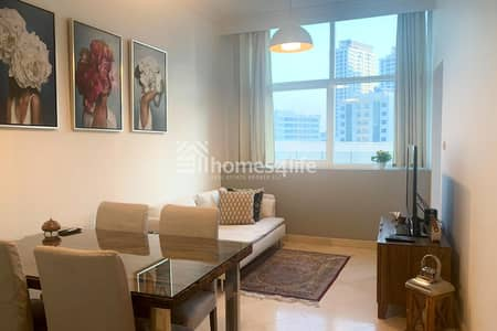 1 Bedroom Apartment for Rent in Dubai Marina, Dubai - Immaculate Condition Furnished Apartment