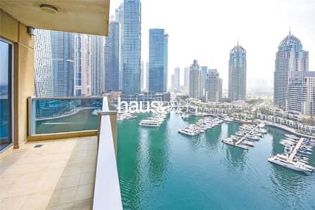 3 Bedroom Apartment for Sale in Dubai Marina, Dubai - Full Marina View | Vacant On Transfer | Maids Room