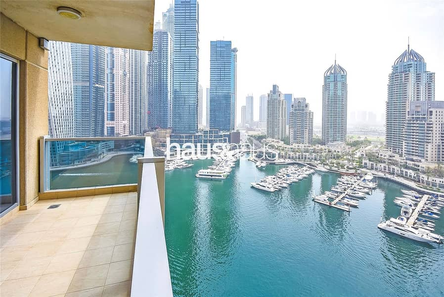 Full Marina View | Vacant On Transfer | Maids Room