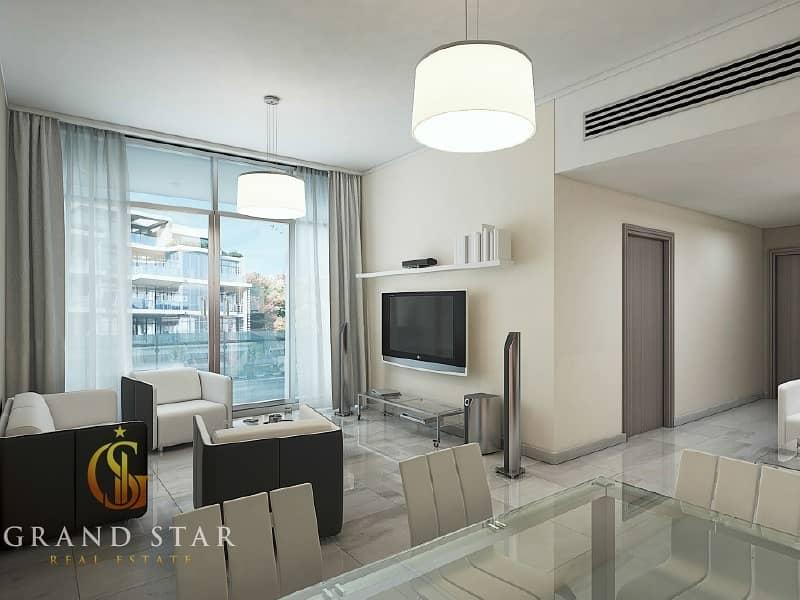 2 1BHK for sale with Balcony | MEYDAN view