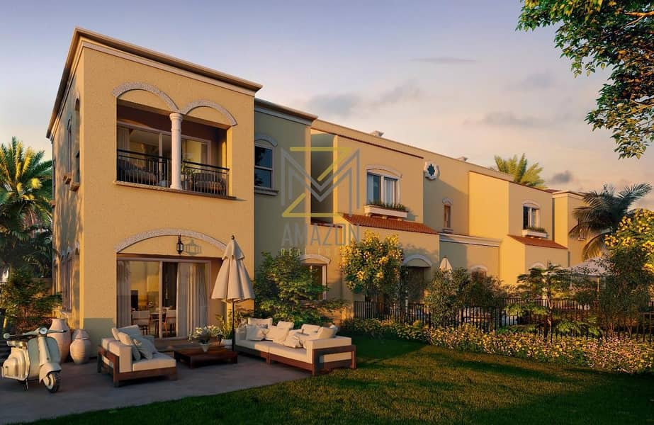2 Best Price Ready To Move in 2 BR plus Maid Townhouse Brand New