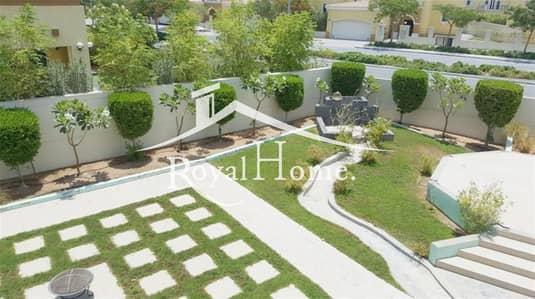 فیلا 4 غرف نوم للبيع في جميرا بارك، دبي - Large 10500 sqf vacant 4BR corner villa
