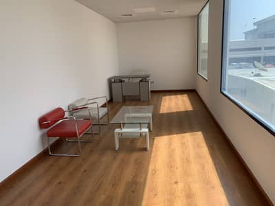 Office for Rent in Al Garhoud, Dubai - Bright and Spacious office for rent near GGICO Metro Station
