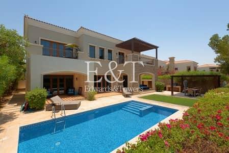 فیلا 5 غرف نوم للبيع في عقارات جميرا للجولف، دبي - Vacant Now| Valencia Type | Full Golf Course | JGE