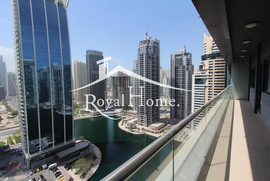 10 Nice 2 BR Apartment with huge balcony lake view