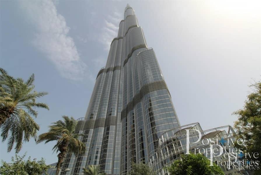Stunning 1 bed Burj Khalifa Vacant