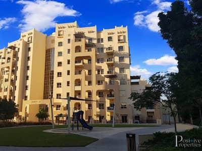 شقة 1 غرفة نوم للايجار في رمرام، دبي - Spacious 1BR Closed Kitchen - Best Price - Well Maintained