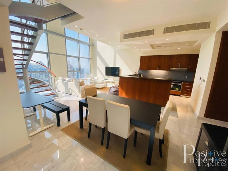 Fully Furnished 2 BED | With Balcony | Jumeirah view