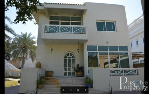 فیلا 4 غرف نوم للايجار في المنارة، دبي - huge landscaped plot   service block   pool /2 kitchens