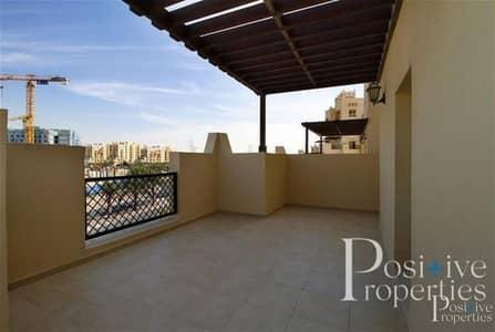 شقة 1 غرفة نوم للايجار في رمرام، دبي - One Bedroom Closed Kitchen with terrace in al Thamam for rent