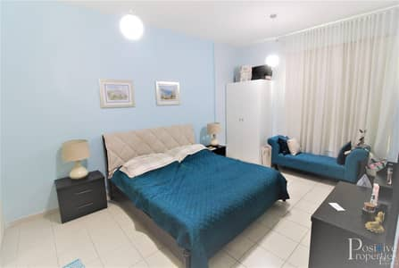 1 Bedroom Flat for Sale in The Greens, Dubai - Peaceful garden view| Higher floor| Furnished