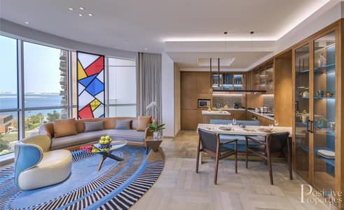 شقة 2 غرفة نوم للايجار في نخلة جميرا، دبي - LIVE IN THE HYATTS ANDAZ 5-STAR HOTEL RESIDENCES