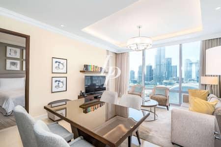 شقة 1 غرفة نوم للبيع في وسط مدينة دبي، دبي - Modern Dcor | Burj Khalifa and Fountain View
