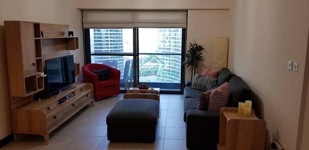 شقة 2 غرفة نوم للايجار في أبراج بحيرات الجميرا، دبي - Furnished | Both En Suite | Full Lake View