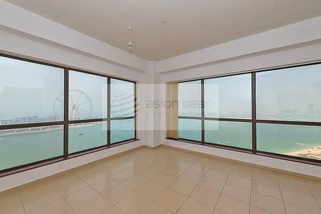 فلیٹ 2 غرفة نوم للايجار في جميرا بيتش ريزيدنس، دبي - Panoramic Sea View | One of a Kind 2BR Apt in JBR