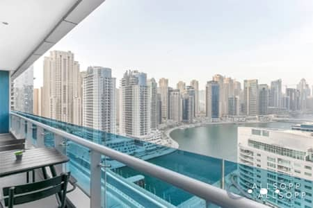 1 Bedroom Flat for Sale in Dubai Marina, Dubai - High Floor | Full Marina Views | 909 Sq Ft