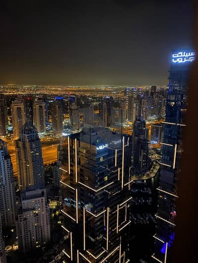 2 Bedroom Flat for Rent in Dubai Marina, Dubai - Fully Furnished | High Floor | Panoramic View