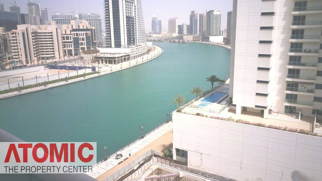 Spacious 1 BR| Balcony with Canal View | 6 Cheques