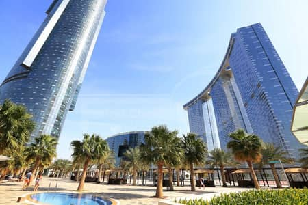 2 Bedroom Flat for Rent in Al Reem Island, Abu Dhabi - 4 Payments! Huge 2BR+Maids Room Apartment.