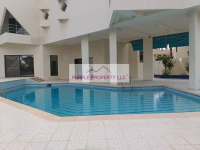 5 Bedroom Villa for Rent in Al Mushrif, Abu Dhabi - Stylish  5 Master bedroom villa with swimming pool and garden in AL Mushrif
