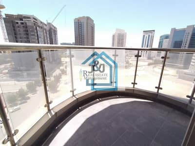 2 Bedroom Apartment for Rent in Danet Abu Dhabi, Abu Dhabi - High Floor 2BR  with Big Balcony + Pool + Gym