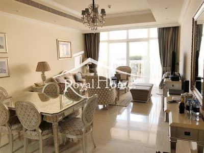 شقة فندقية 2 غرفة نوم للايجار في نخلة جميرا، دبي - Luxury 2BR Hotel Apartment in Kempinski / The Palm