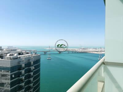 2 Bedroom Apartment for Rent in Al Reem Island, Abu Dhabi - Limited Time Offer! Wonderful 2BR with Balcony and Sea View in Reem Island