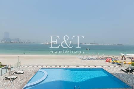 فلیٹ 2 غرفة نوم للبيع في نخلة جميرا، دبي - Full Sea View | Vacant Now | Immaculate | PJ