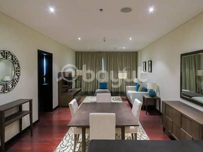 فلیٹ 1 غرفة نوم للايجار في نخلة جميرا، دبي - شقة في مساكن أنانتارا نخلة جميرا 1 غرف 91000 درهم - 4595959